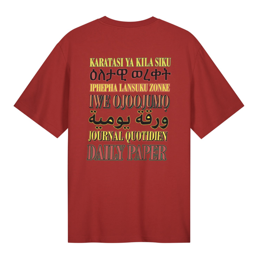 Daily Paper Remulti Tee Flame Red