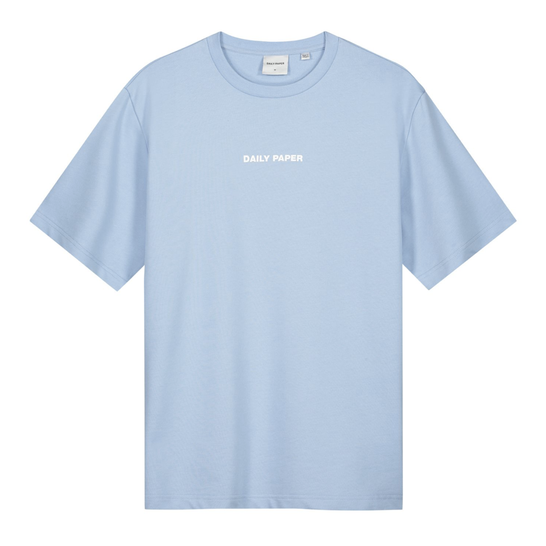 Daily Paper Refarid Tee Chambray Blue