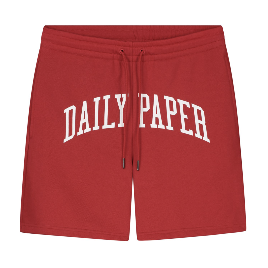 Daily Paper Rearch Short Haute Red