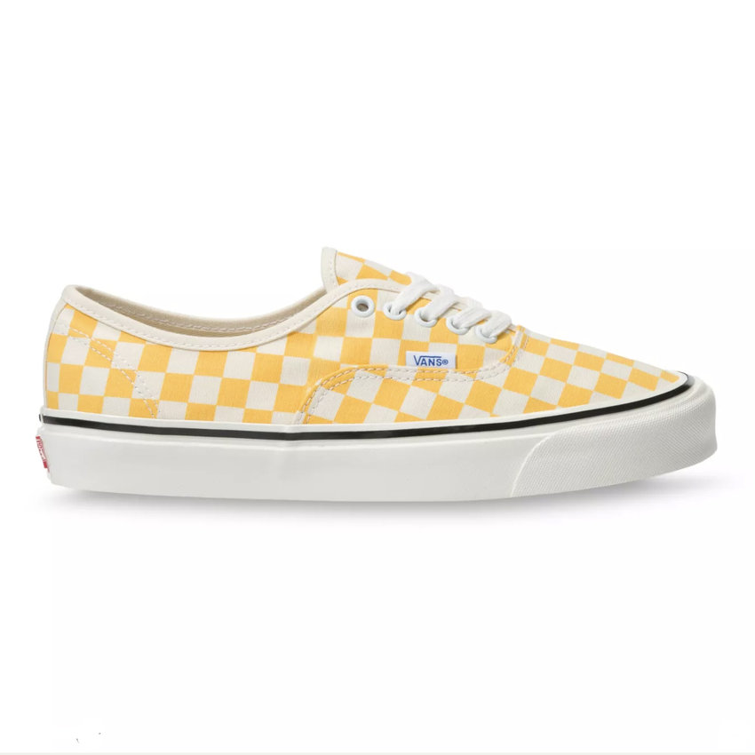 Vans  Authentic 44 DX Anaheim Yellow Check