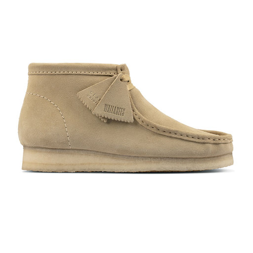 Clarks Wallabee Boot Maple Suede