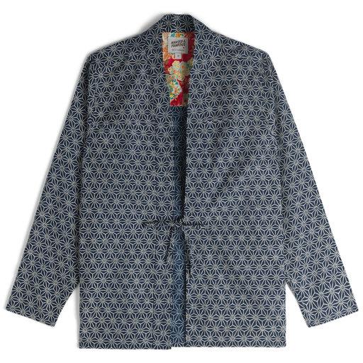 Naked & Famous Denim Kimono Asanoha