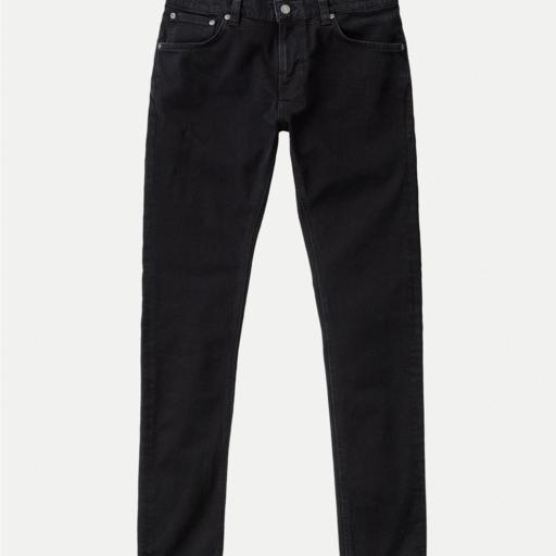 Nudie Jeans Tight Terry Rumbling Black