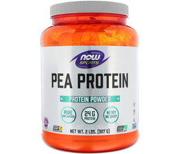 Now Foods, Sports, Pea Protein, Pure Unflavored