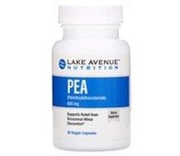 Buy PEA, 600 mg, 90 Veggie Capsules