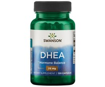 3 PACK Swanson DHEA 25 mg 120 caps (360 tablets)