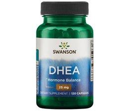3 PACK Swanson DHEA 25 mg 120 caps (360 capsules)