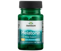 3 PACK Swanson Dual-Release Melatonine 3 mg, 60 tabs (180 tablets)