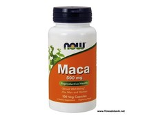 NOW Maca 500mg, 100 Veg Capsules