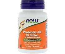 Now Foods, Probiotic-10, 25 Billion