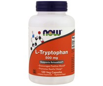 Now Foods, L-Tryptophan, 500 mg, 120 Veg Caps