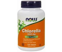Now Foods, Chlorella, 1,000 mg, 120 Tablets