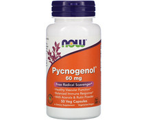 Now Foods, Pycnogenol, 60 mg, 50 Veg Capsules