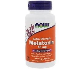 Now Foods, Extra Strength Melatonin, 10 mg, 100 Veg Capsules
