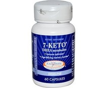Enzymatic Therapy, 7-KETO, DHEA Metabolite, 60 Capsules, 25 mg