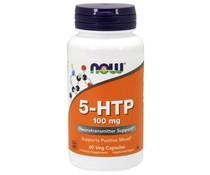 Now, 5-HTP 100 mg, 60 veg capsules