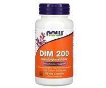 Now Foods, DIM 200, 90 Veg Capsules