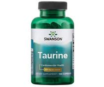 Swanson Taurine, 500 mg, 100 Caps