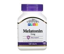 21st Century, Melatonin, 5 mg, 120 Tablets