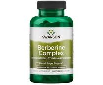 Swanson, Berberine Complex w/Cinnamon, Gymnema & Fenugreek