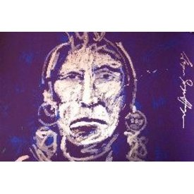 Espen Greger Hagen Espen Greger Hagen | Silver chief on purple