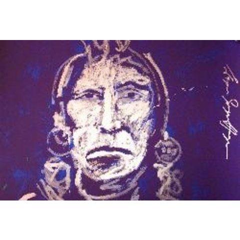 Espen Greger Hagen | Silver chief on purple