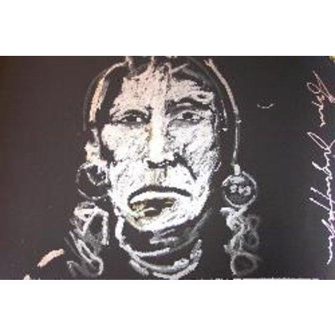 Espen Greger Hagen | Silver chief on black