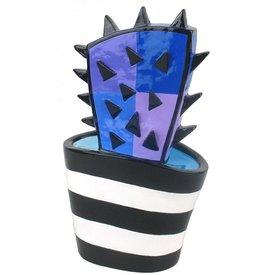 Jacqueline Schäfer | Cactus paars/blauw