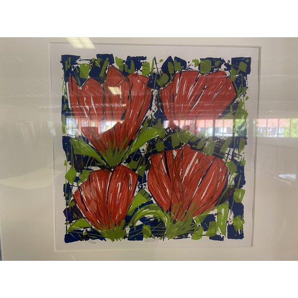 Ad van Hassel Ad van Hassel   Rode Tulpen