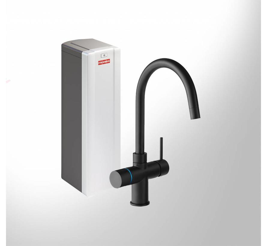 Perfect 3 Touch Minerva Black met Combi-S boiler