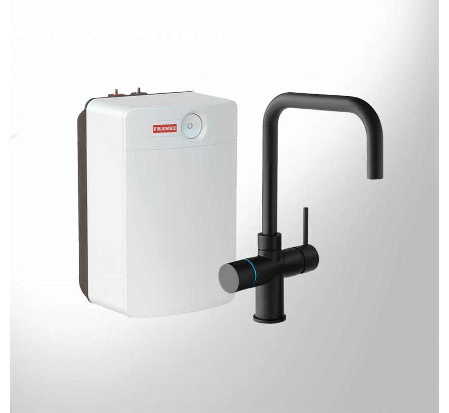 Perfect 4 Touch Irena Black met Combi-XL boiler
