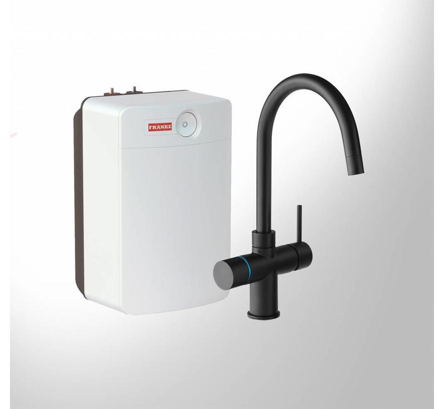 Perfect 4 Touch Minerva Black met Combi-XL boiler