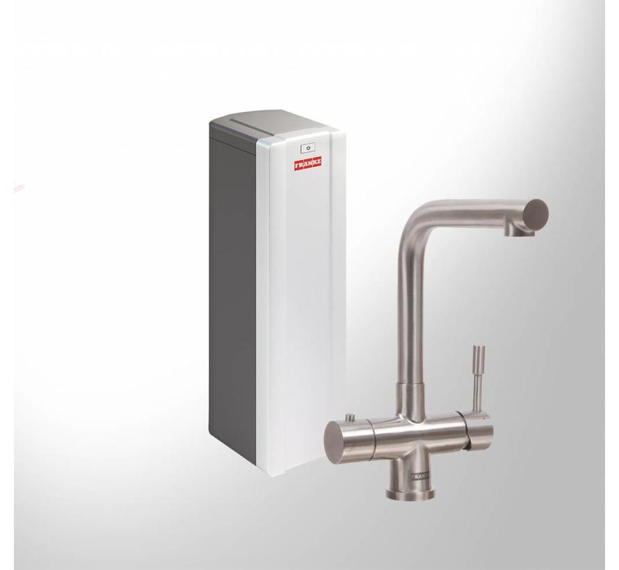 Premium3 Twist Mondial RVS met Combi-S boiler