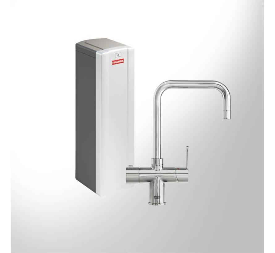 Premium3 Twist Irena chroom met Solo S boiler