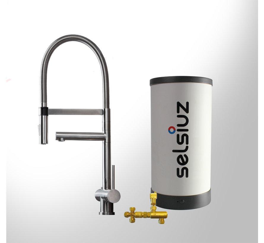 RVS-XL met Combi boiler