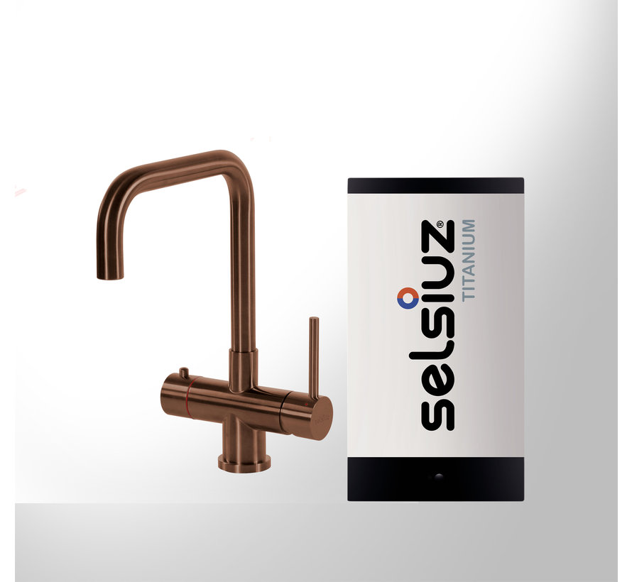 Copper Haaks met Titanium Single boiler 5 liter