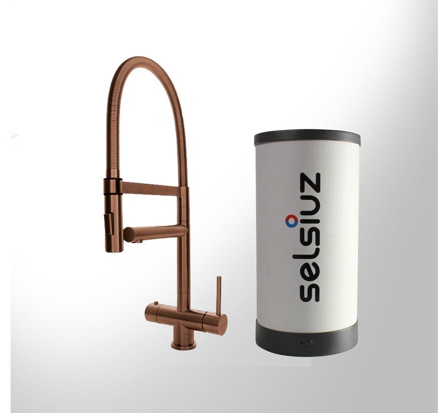 Copper XL met Single boiler 5 liter