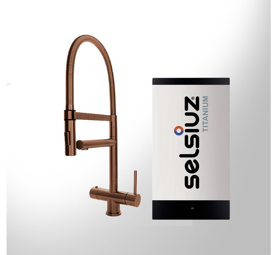 Copper XL met Titanium Single boiler 5 liter