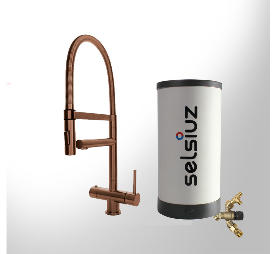 Copper XL met Combi Extra boiler 5 liter