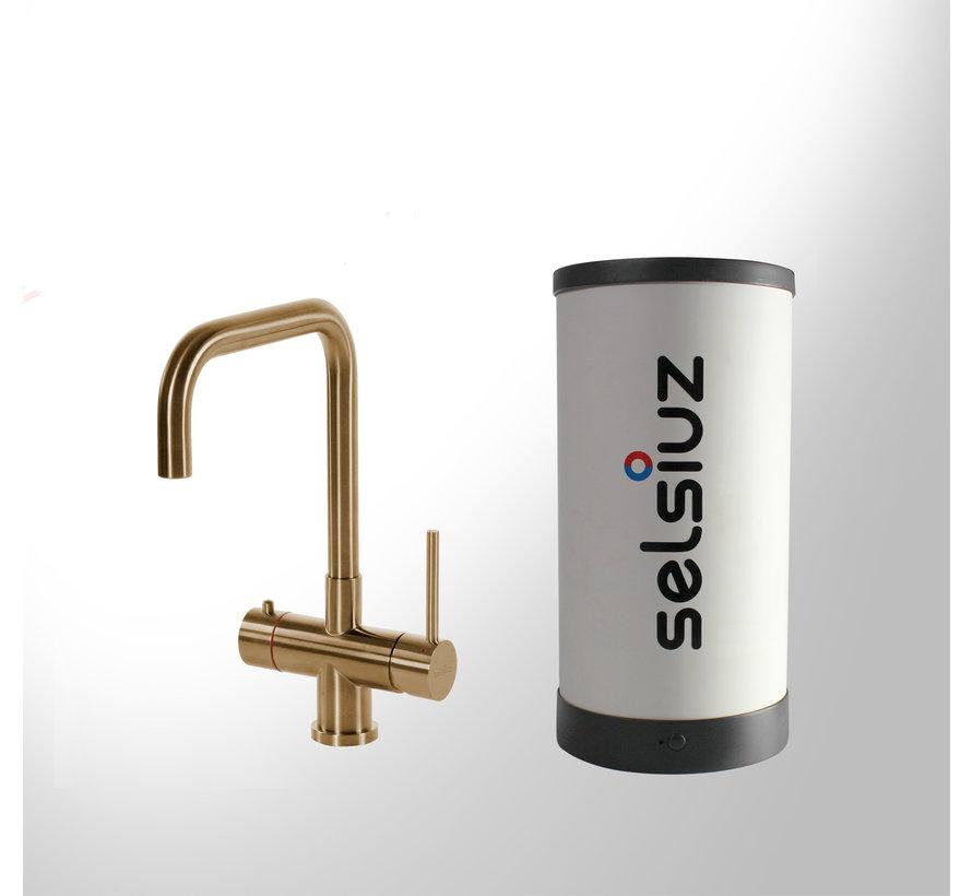 Gold Haaks met Single boiler