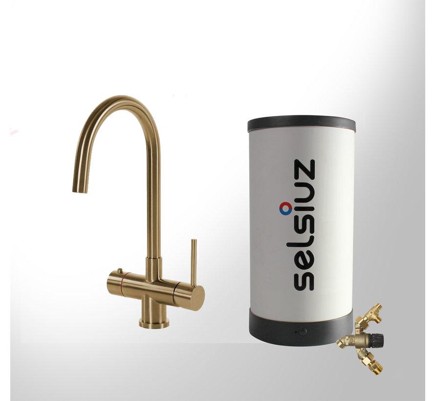 Gold Rond met Combi Extra boiler