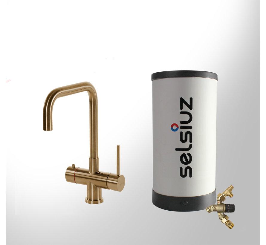 Gold Haaks met Combi Extra boiler 5 liter