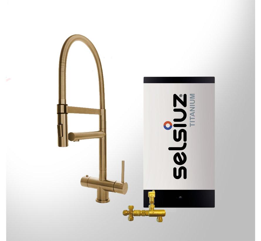 XL Gold met Titanium Combi boiler 5 liter