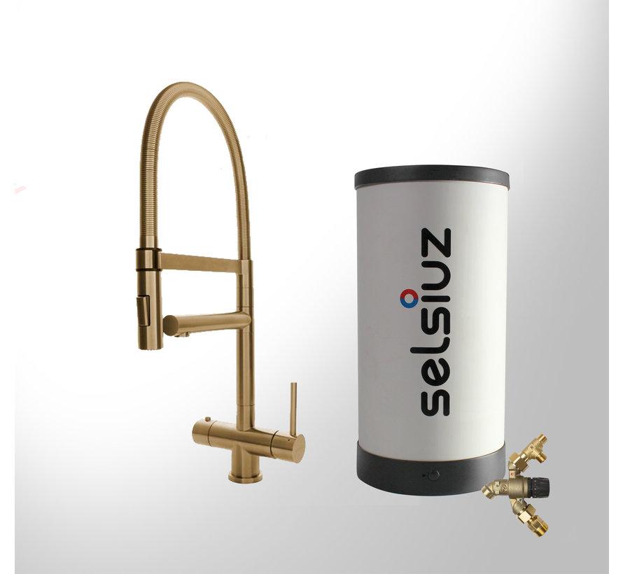 XL Gold met Combi Extra boiler