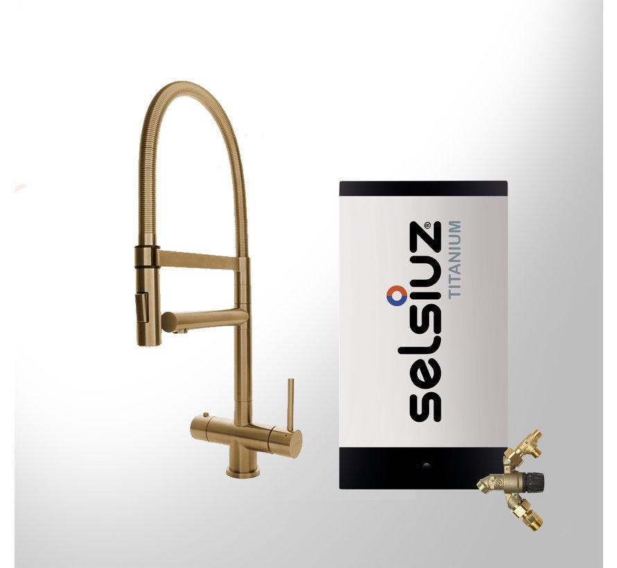 XL Gold met Titanium Combi Extra boiler 5 liter