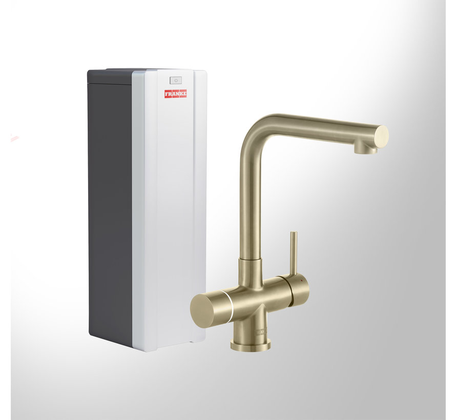 Perfect 3 Touch Mondial Gold met Combi-S boiler