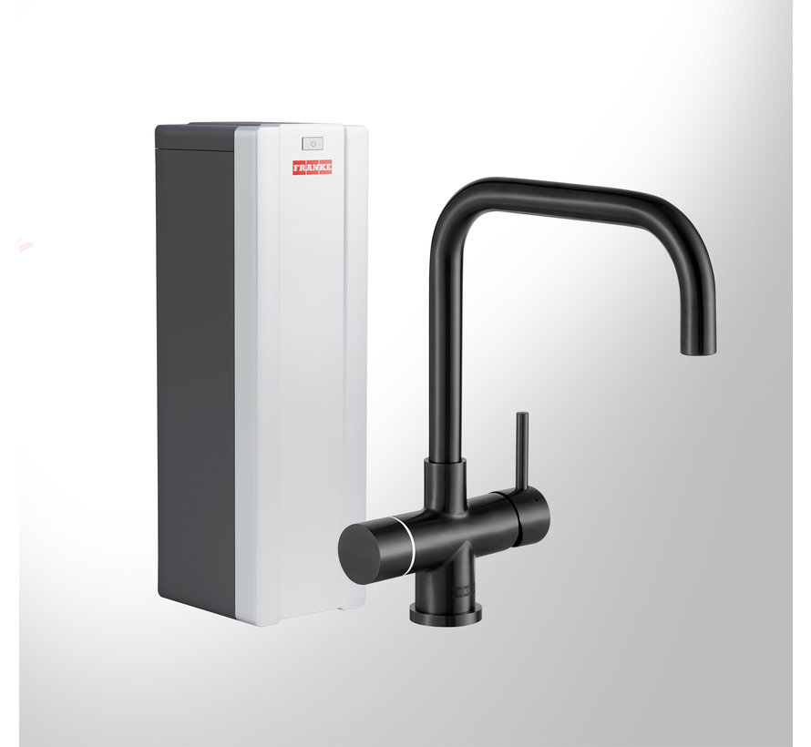 Perfect 3 Touch Pollux Black met Combi-S boiler