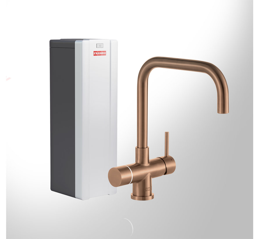 Perfect 3 Touch Pollux Copper met Combi-S boiler
