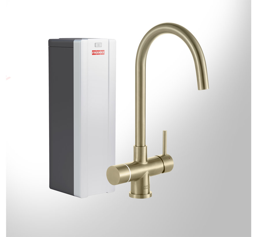 Perfect 3 Touch Helix Gold met Combi-S boiler