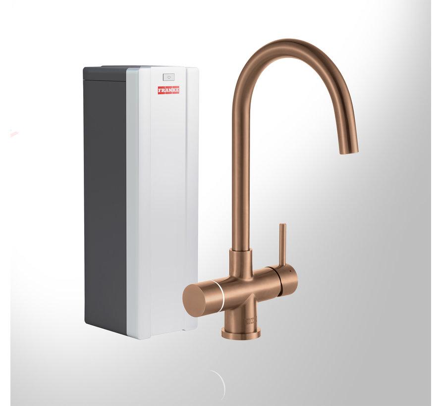 Perfect 3 Touch Helix Copper met Combi Xcellent